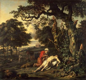 Parable of the Good Samaritan by Jan Wynants, 1670