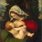 Madonna and Child, by Andrea Solario, 16th century