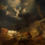 Annunciation to the Shepherds by Nicolaes Pietersz Berchem, 1649